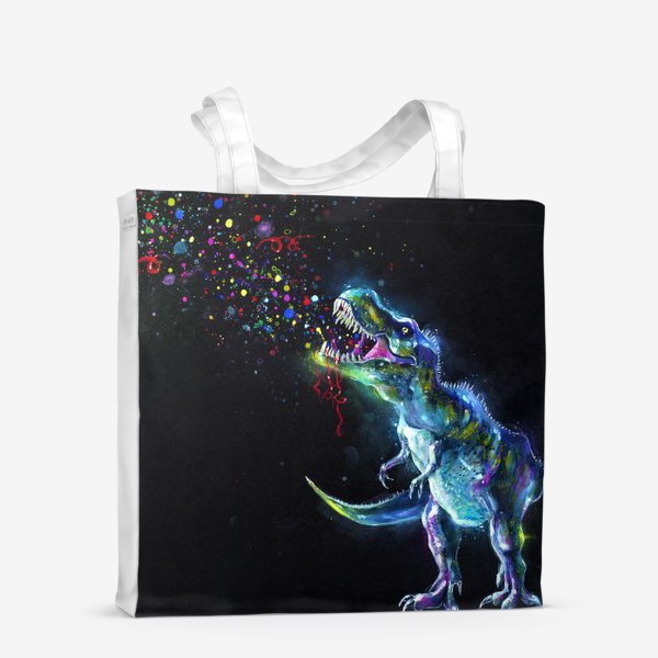Сумка-шоппер «Crystal T-Rex in Space»