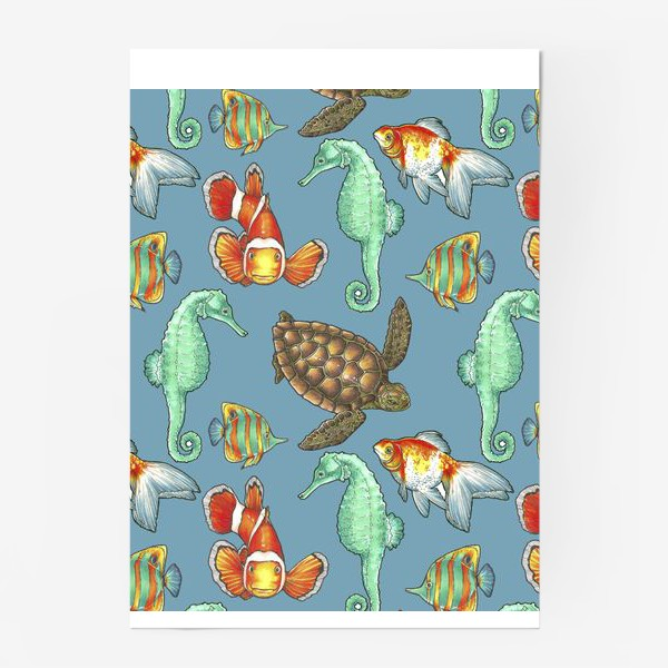Постер «рыбки 2»