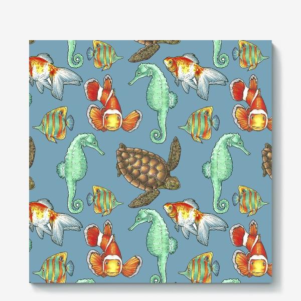 Холст «рыбки 2»