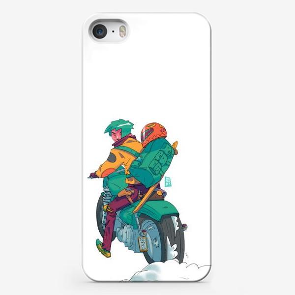 Чехол iPhone «Байкер»