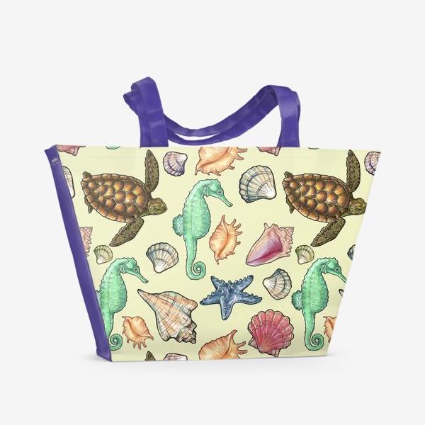 Пляжная сумка «Мечты о море»