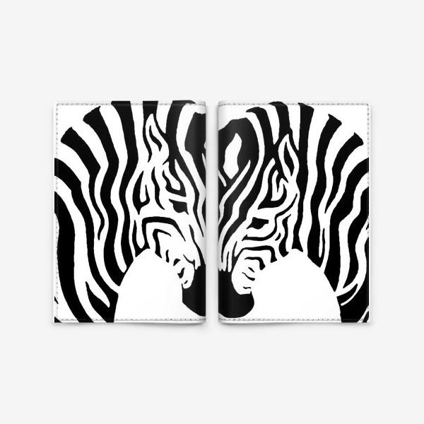 Обложка для паспорта «Зебры »