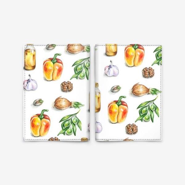 Обложка для паспорта «Кухня»