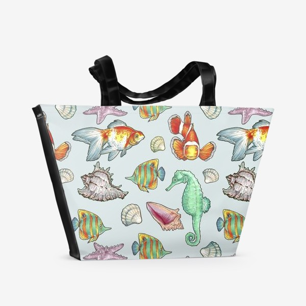 Пляжная сумка «рыбки»