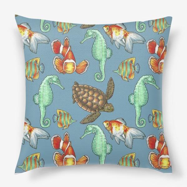 Подушка «рыбки 2»
