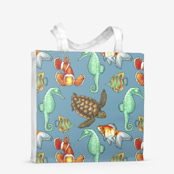 Сумка-шоппер «рыбки 2»