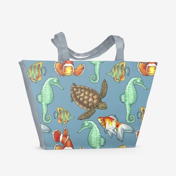 Пляжная сумка «рыбки 2»