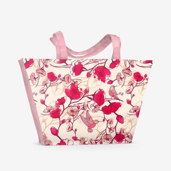 Пляжная сумка «Весенняя»