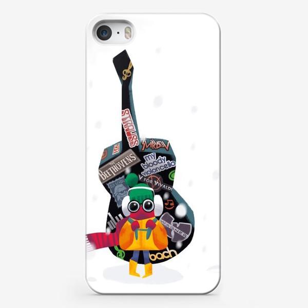 Чехол iPhone «Юный музыкант»