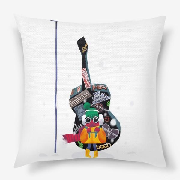 Подушка «Юный музыкант»