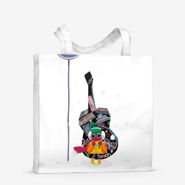 Сумка-шоппер «Юный музыкант»