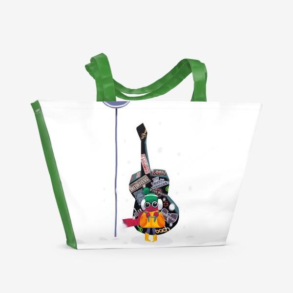 Пляжная сумка «Юный музыкант»