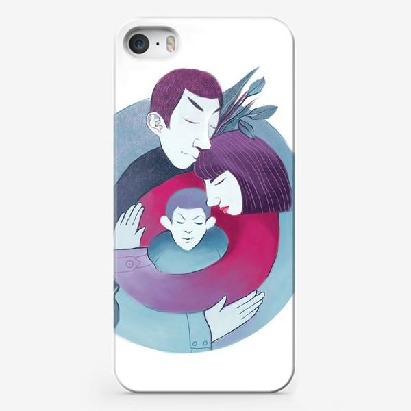 Чехол iPhone «Семья»