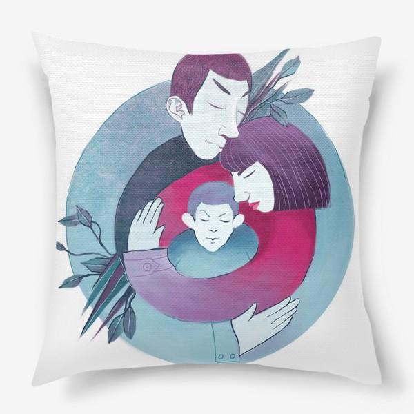 Подушка «Семья»