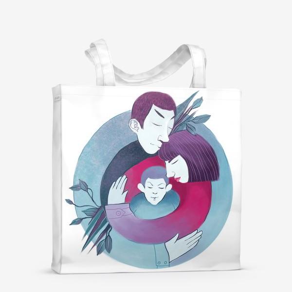 Сумка-шоппер «Семья»