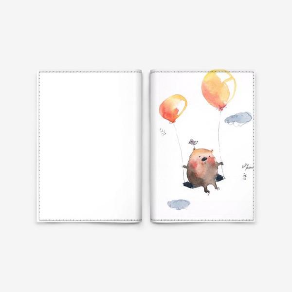 Обложка для паспорта «прогулка»