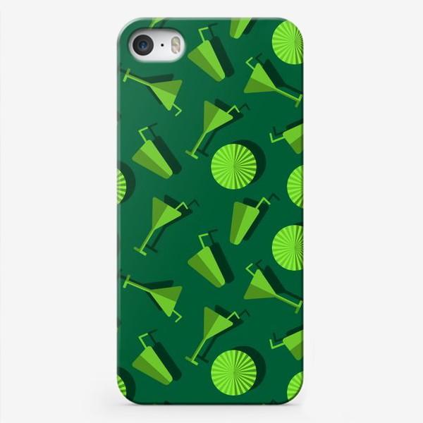 Чехол iPhone «Коктель и  зонтики»