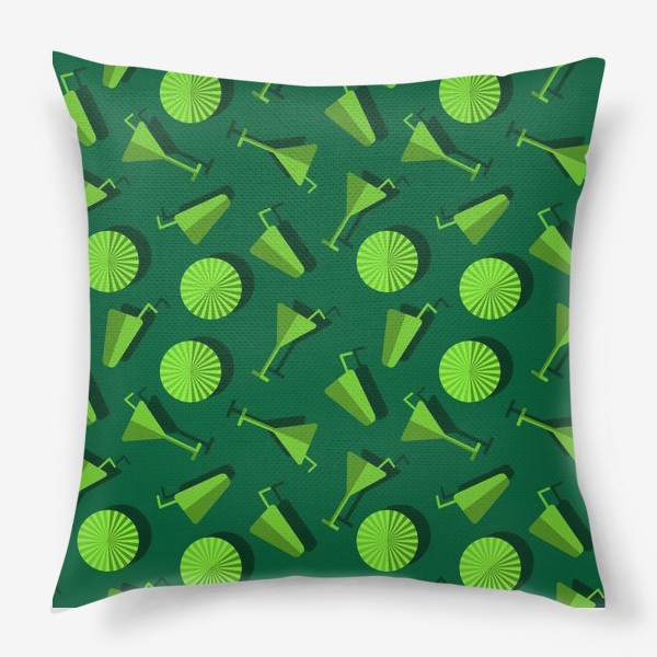 Подушка «Коктель и  зонтики»