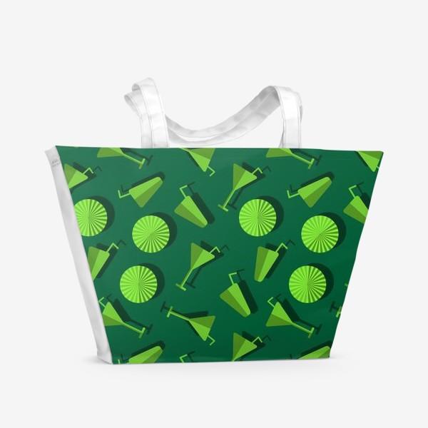 Пляжная сумка «Коктель и  зонтики»