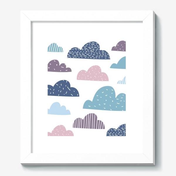 Картина «Разноцветные тучки»