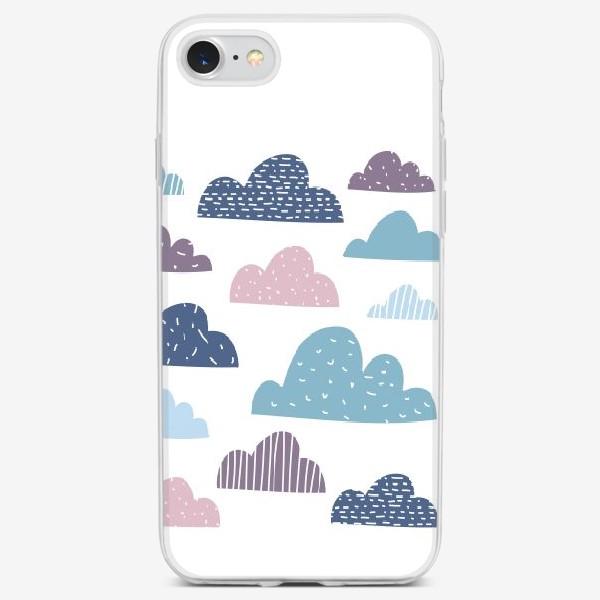 Чехол iPhone «Разноцветные тучки»