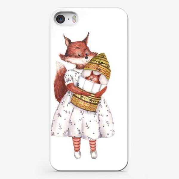 Чехол iPhone «Мама Белка»