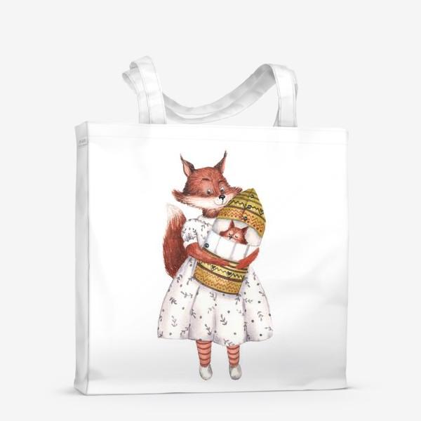 Сумка-шоппер «Мама Белка»