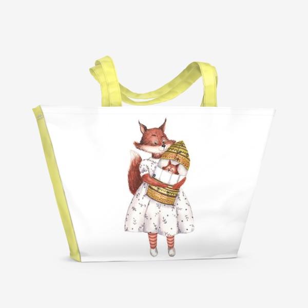 Пляжная сумка «Мама Белка»