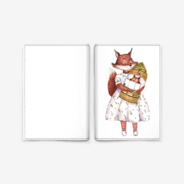 Обложка для паспорта «Мама Белка»