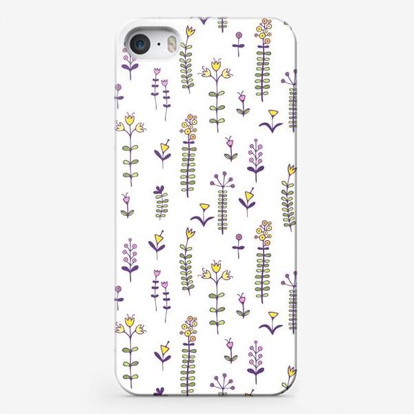 Чехол iPhone «Милые цветочки»