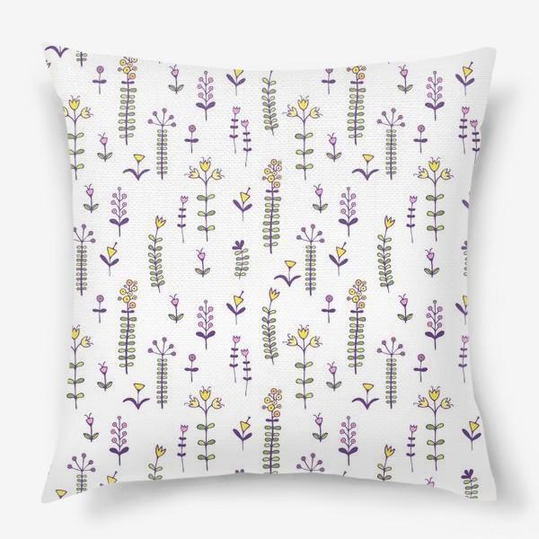 Подушка «Милые цветочки»