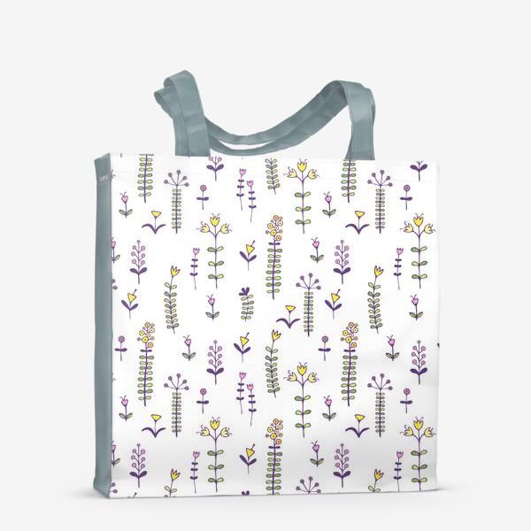 Сумка-шоппер «Милые цветочки»