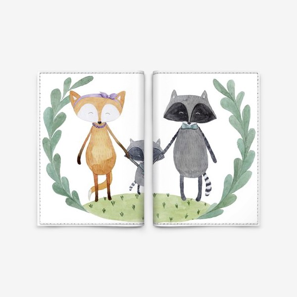 Обложка для паспорта «Семья»