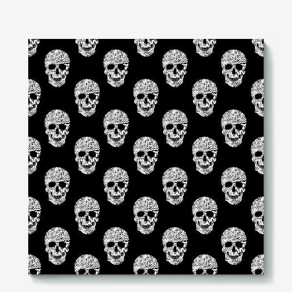 Холст «Little White Skulls»