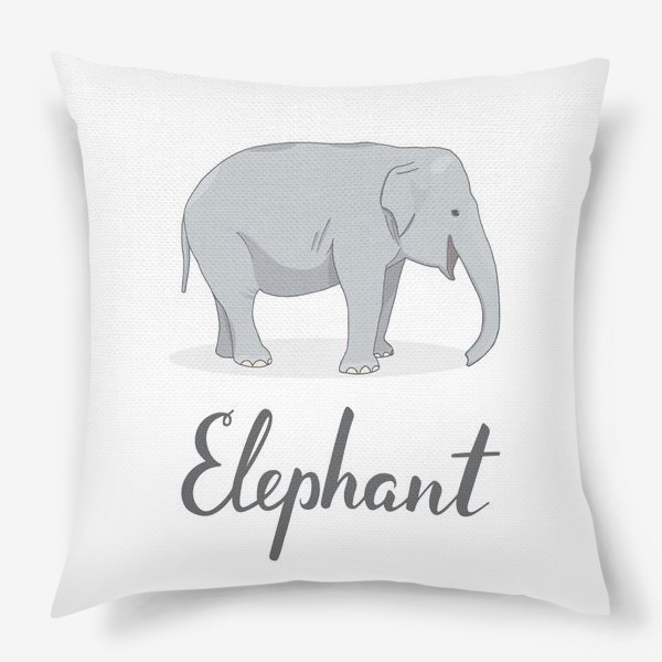 Подушка «Довольный слон»