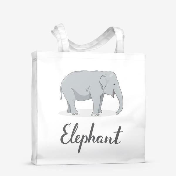 Сумка-шоппер «Довольный слон»