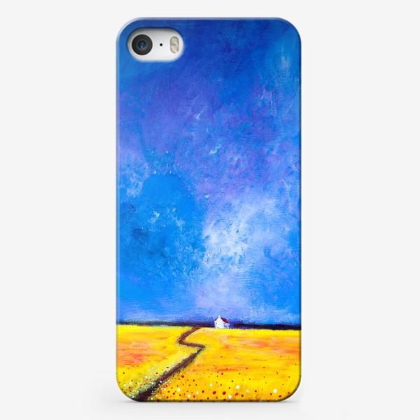 Чехол iPhone «Маки перед дождем»
