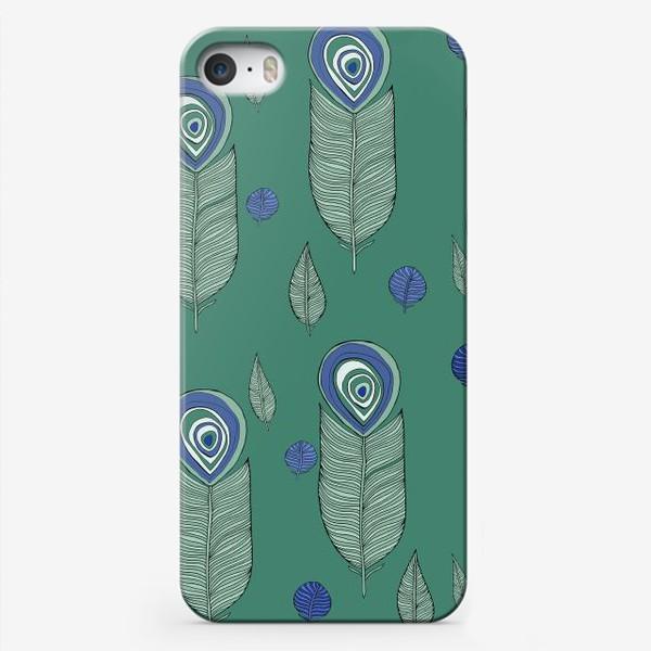 Чехол iPhone «Перья»