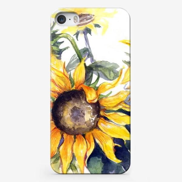 Чехол iPhone «Sunflowers»