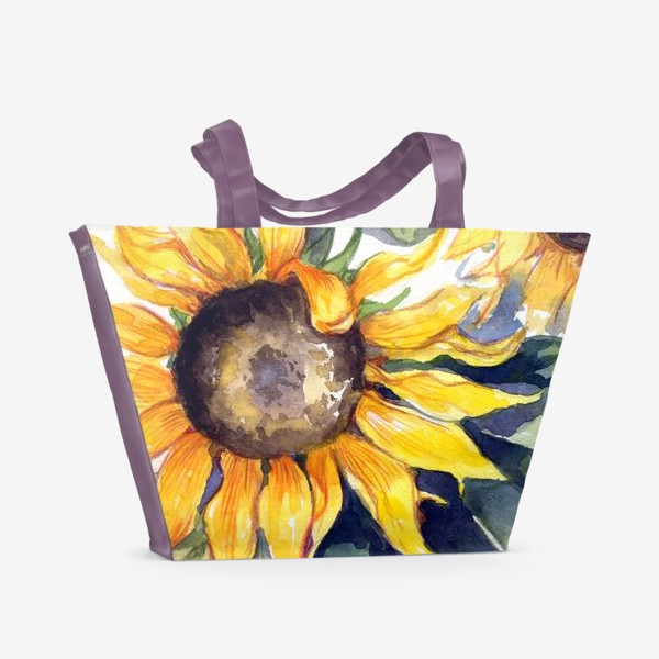 Пляжная сумка «Sunflowers»