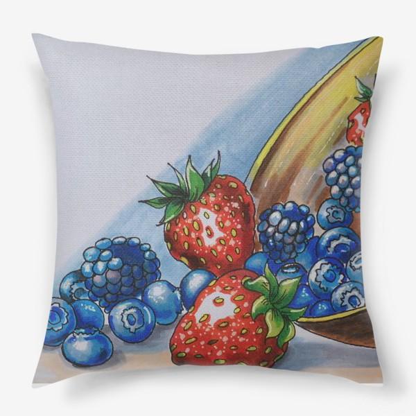 Подушка «фрукты»