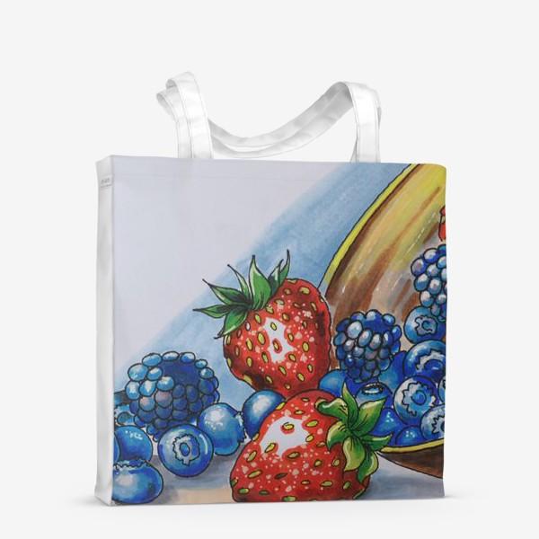 Сумка-шоппер «фрукты»