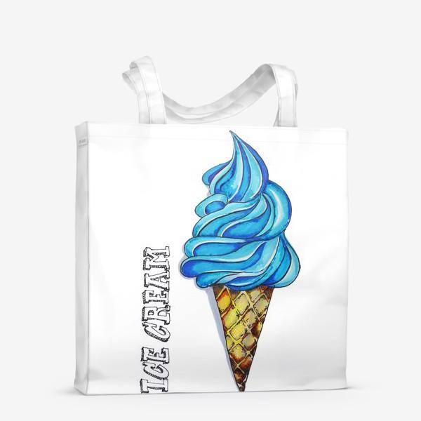 Сумка-шоппер «мороженое»