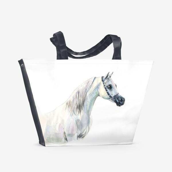Пляжная сумка «Арабская лошадь»