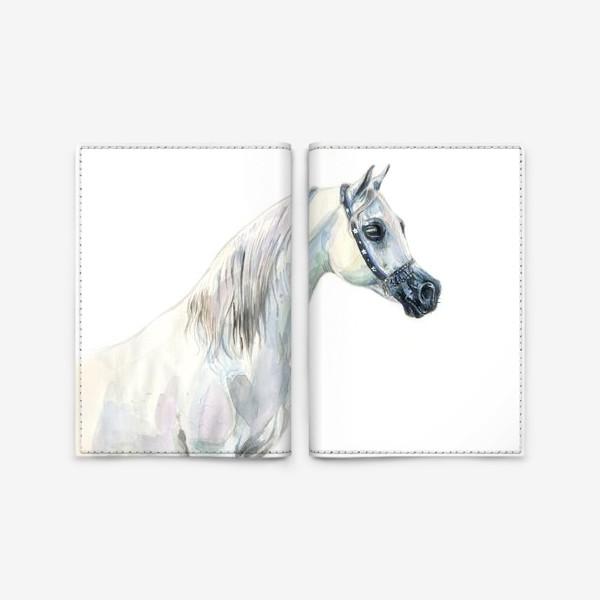 Обложка для паспорта «Арабская лошадь»
