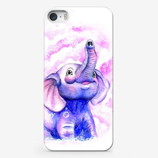 Чехол iPhone «A cute elephant»