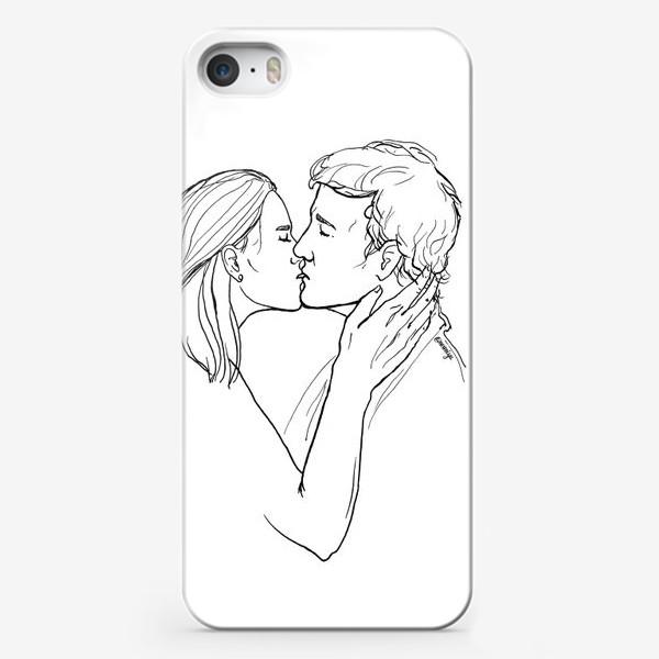 Чехол iPhone «Целую»