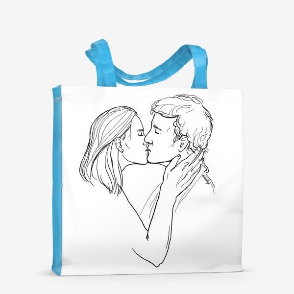 Сумка-шоппер «Целую»
