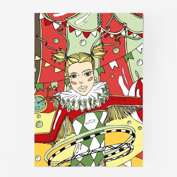 Постер «Винтажный цирк»
