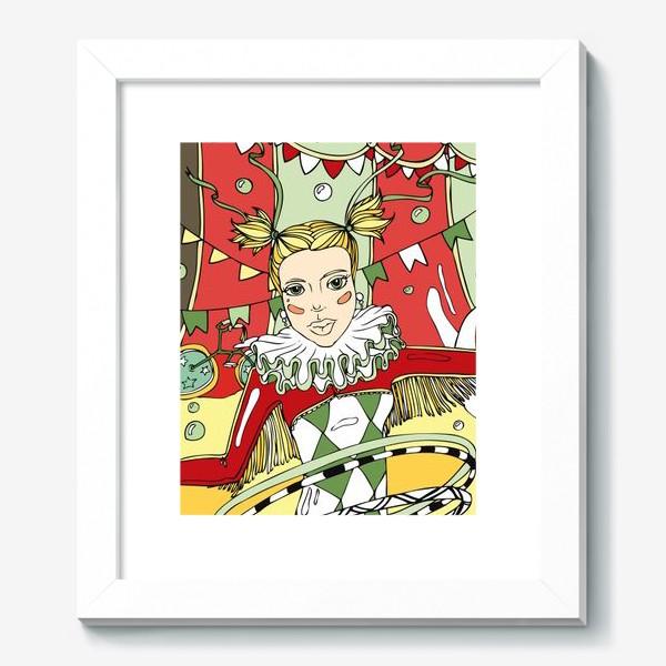 Картина «Винтажный цирк»